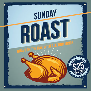 Sydney's best Sunday Roast with all the trimmings!