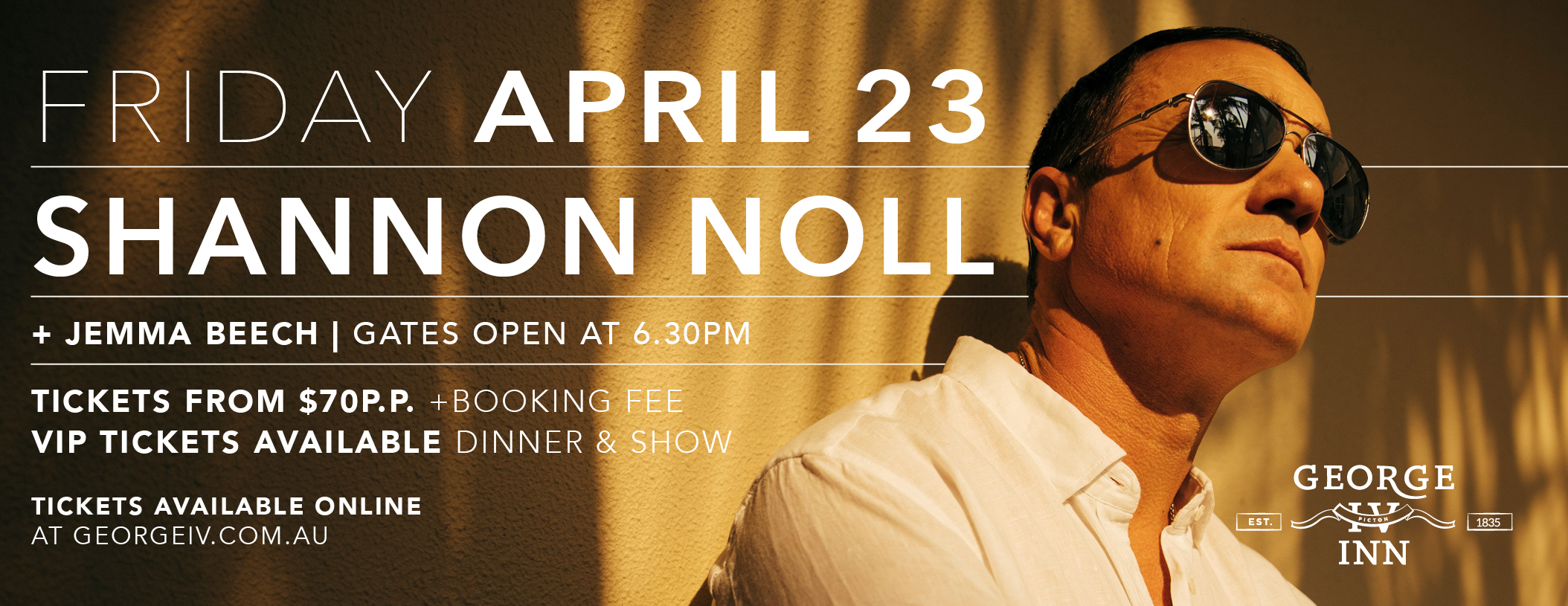 Shannon Noll at The George